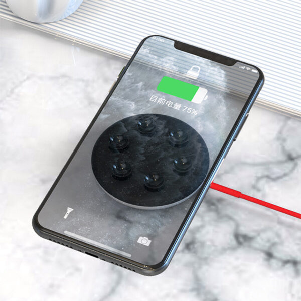 Suction Cup Wireless Charger For iPhone Samsung Android Phone ICD10_4