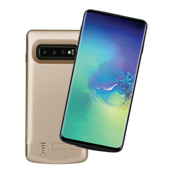 Perfect Samsung S10 Plus Elite 6000 mAh Charger Case SGX05_3