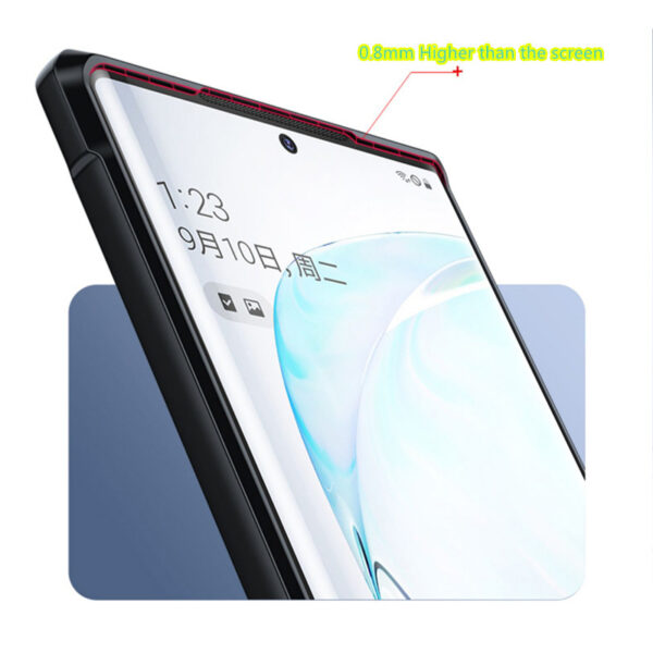 Inclusive Anti-fall Silicone Samsung Note10 And Plus 5G Case SGN101_5