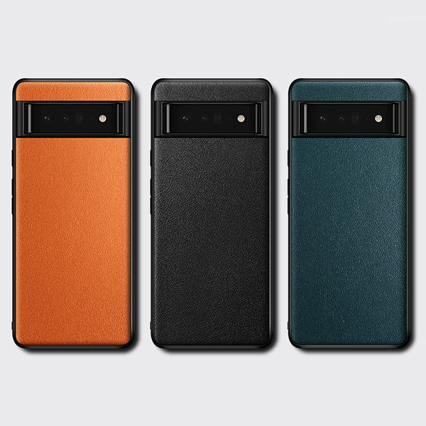 Carbon Fiber Pattern Silicone Case For Google Pixel 4 And XL GPC11