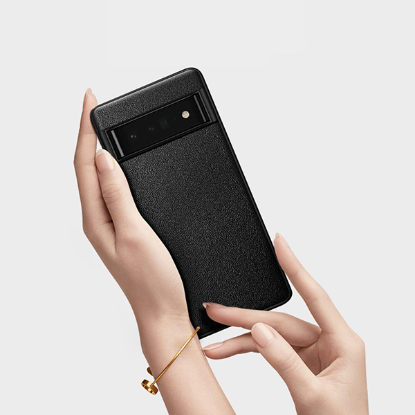 Carbon Fiber Pattern Silicone Case For Google Pixel 4 And XL GPC11_5