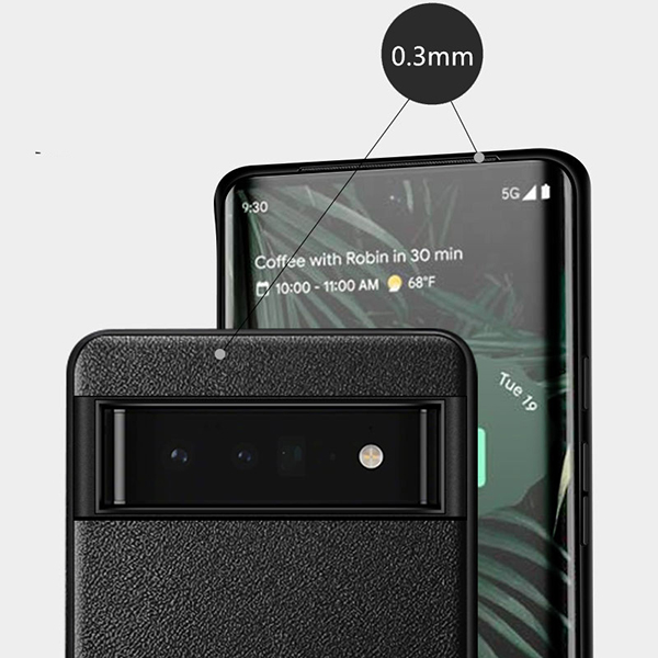 Carbon Fiber Pattern Silicone Case For Google Pixel 4 And XL GPC11_6