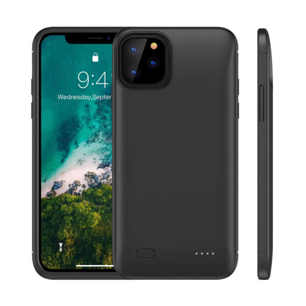 Protective iPhone 11 Pro Max Charge Case Cover With Stand IPGC16_2