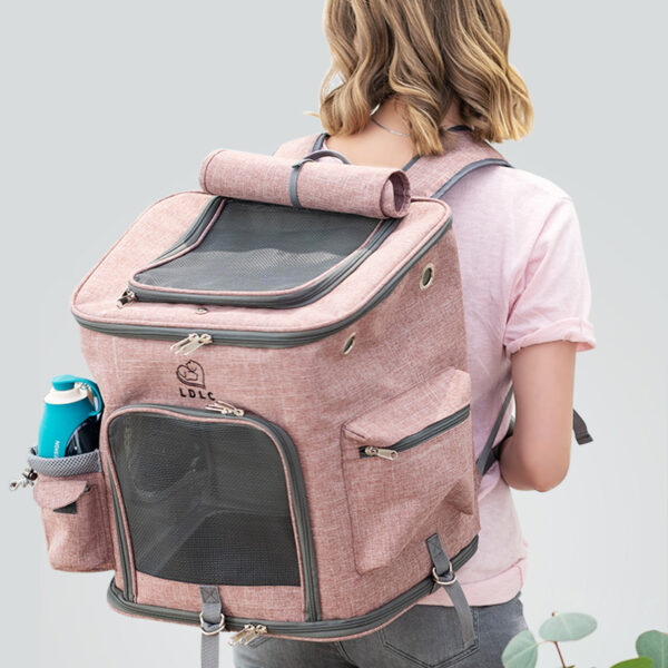 Airline Approved Plus Size Backpack Pet Carrier Soft Sided Tote MFB25