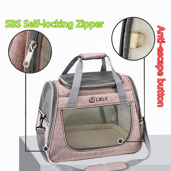 Large Side Window Pet Handbag MFB32_5