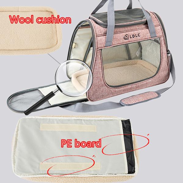 Large Side Window Pet Handbag MFB32_6