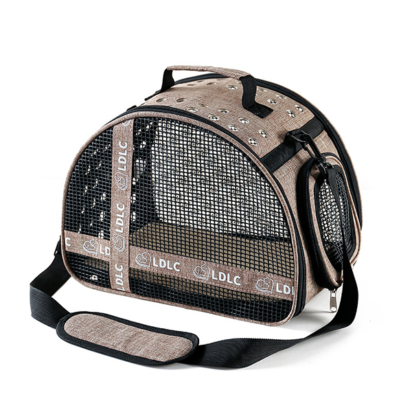 Large Side Window With Hole Pet Handbag MFB33_4