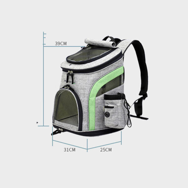Luxury Pet Travel Backpack Carrier MFB26_6