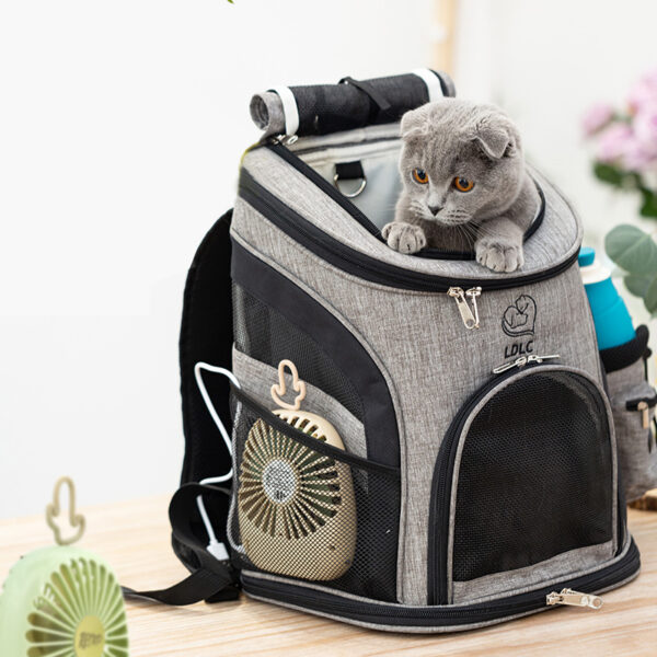 Luxury Pet Travel Plus Size Backpack Carrier MFB27