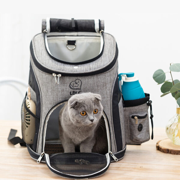 Luxury Pet Travel Plus Size Backpack Carrier MFB27_5