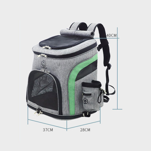 Luxury Pet Travel Plus Size Backpack Carrier MFB27_6