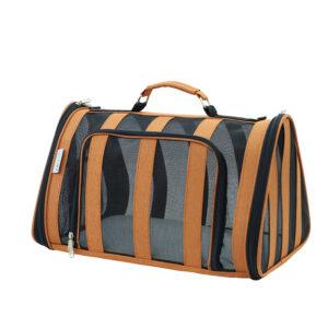 Breathable Grid Model Portable Pet Bag MFB42