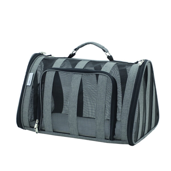 Breathable Grid Model Portable Pet Bag MFB42_2
