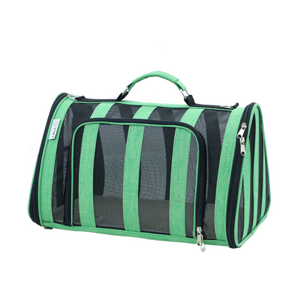 Breathable Grid Model Portable Pet Bag MFB42_4