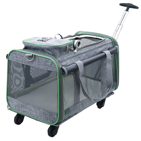 Perfect Pet Trolley Bag Rolling Carrier MFB38_2