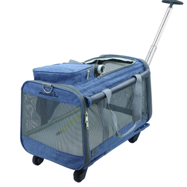 Perfect Pet Trolley Bag Rolling Carrier MFB38_3