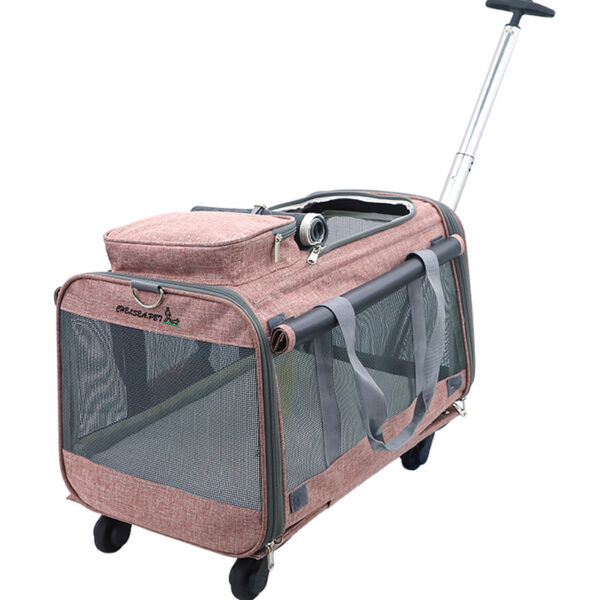 Perfect Pet Trolley Bag Rolling Carrier MFB38_4