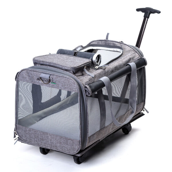 Perfect Pet Trolley Bag Rolling Carrier MFB38_5