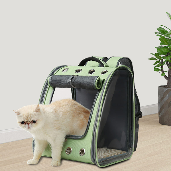 Breathable Porous Pet Backpack Carrier MFB45_5