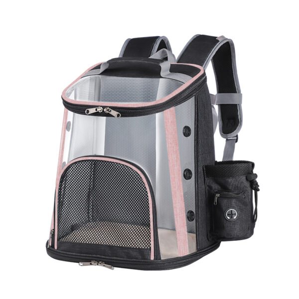 Luxury Pet Transparent Airline Approved Backpack Carrier MFB55