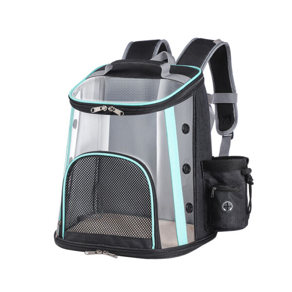 Luxury Pet Transparent Airline Approved Backpack Carrier MFB55_2
