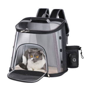 Luxury Pet Transparent Airline Approved Plus Size Backpack Carrier MFB56