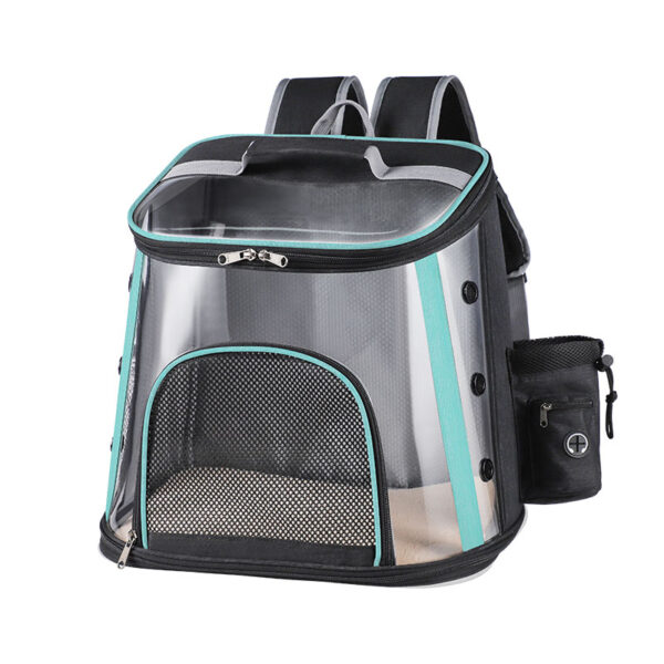 Luxury Pet Transparent Airline Approved Plus Size Backpack Carrier MFB56_3