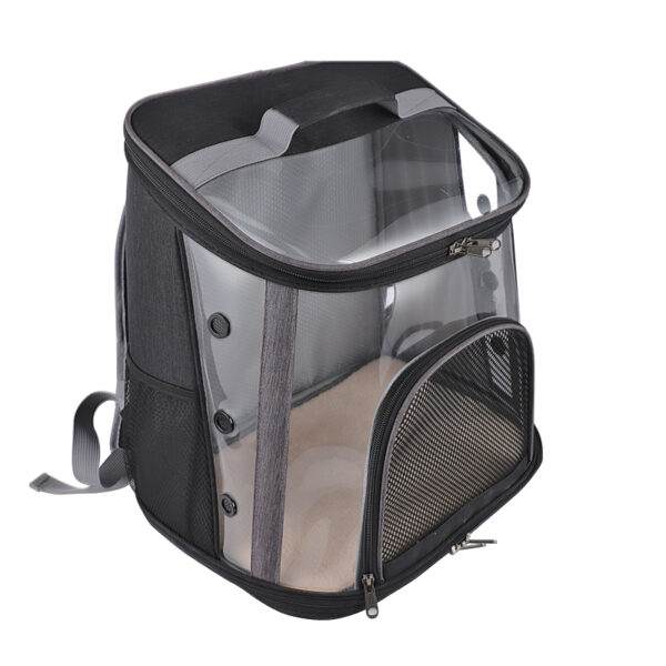 Luxury Pet Transparent Airline Approved Plus Size Backpack Carrier MFB56_6