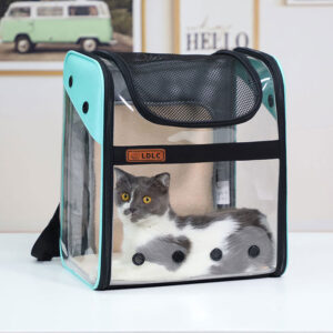 Breathable Dog Cat Backpack Pet Carrier With Extra Room MFB50