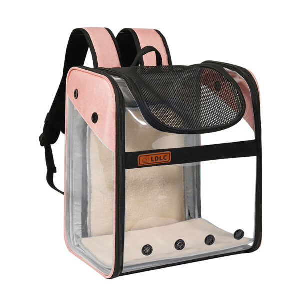 Breathable Dog Cat Backpack Pet Carrier With Extra Room MFB50_3