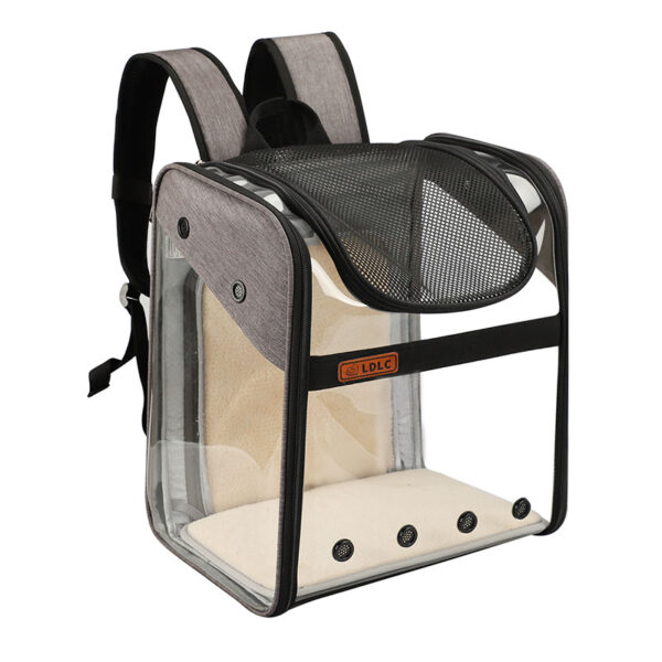 Breathable Dog Cat Backpack Pet Carrier With Extra Room MFB50_4