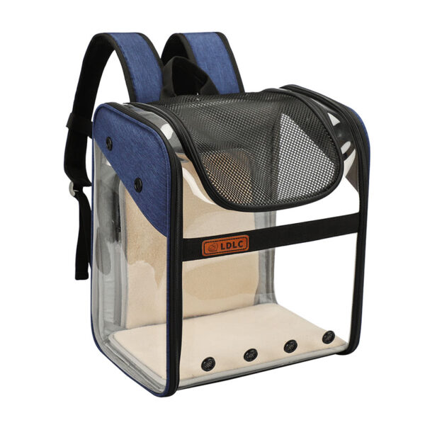 Breathable Dog Cat Backpack Pet Carrier With Extra Room MFB50_5