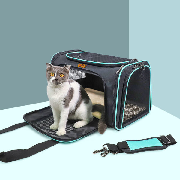 Airline Approved Soft Sided Pet Carrier With Removable Pad MFB51
