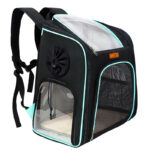 Cat Backpack Carrier With Side Hole That Can Touch Cat MFB58