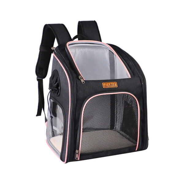 Cat Backpack Carrier With Side Hole That Can Touch Cat MFB58_2