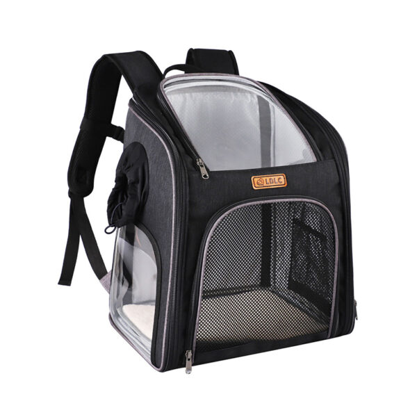 Cat Backpack Carrier With Side Hole That Can Touch Cat MFB58_3