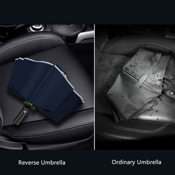 Reverse Umbrella for Car Automatic Umbrella for Men and Women PU01_7